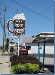 3957 Ohio - Van Wert, OH - Lincoln Highway (Main St)(I-30 Business) - circa 1955 B & K Root Beer Stand