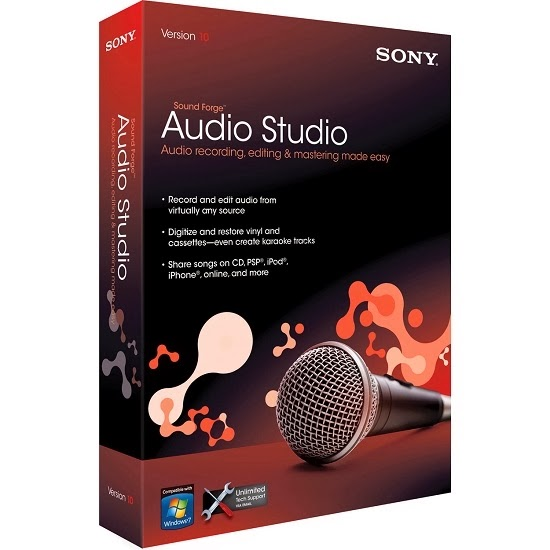 Sony Sound Forge Audio Studio Full