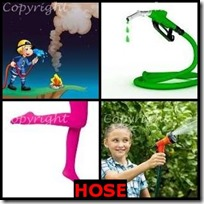 HOSE- 4 Pics 1 Word Answers 3 Letters