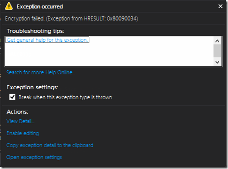 MSDN and MS Fail - Developing Store Apps? You'