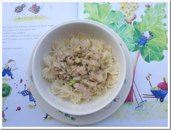 Pasta al tonno e limone (senza pomodoro)