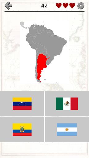 American Countries Caribbean