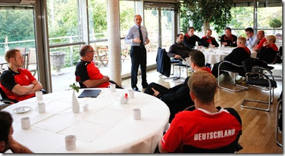 Reunión de directivos de Federación alemana con jugadores | Mundo Handball