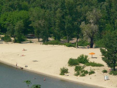 Plaja Ucraina: Hidropark Kiev
