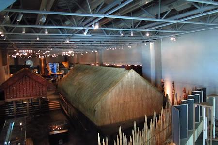 Obiective turistice Wellington: in vizita la TePapa, etajul maori