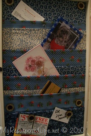 fabric pockets organizer