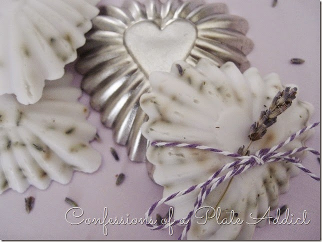 CONFESSIONS OF A PLATE ADDICT Lavender Goats Milk Soap