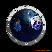 TARDIS CLOCK WIDGET