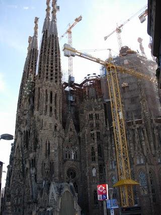 Sagrada Família à Barcelone