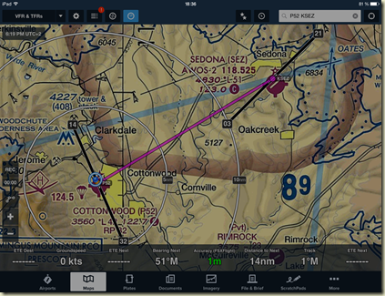 Du virtuel au réel: Flight report and 1st Sedona Orbx test : from