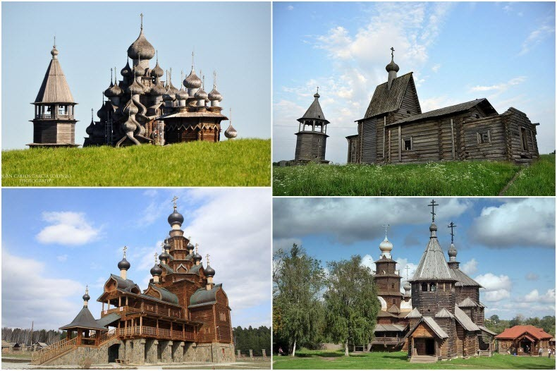 10 Spectacular Wooden Churches of Russia | Amusing Planet