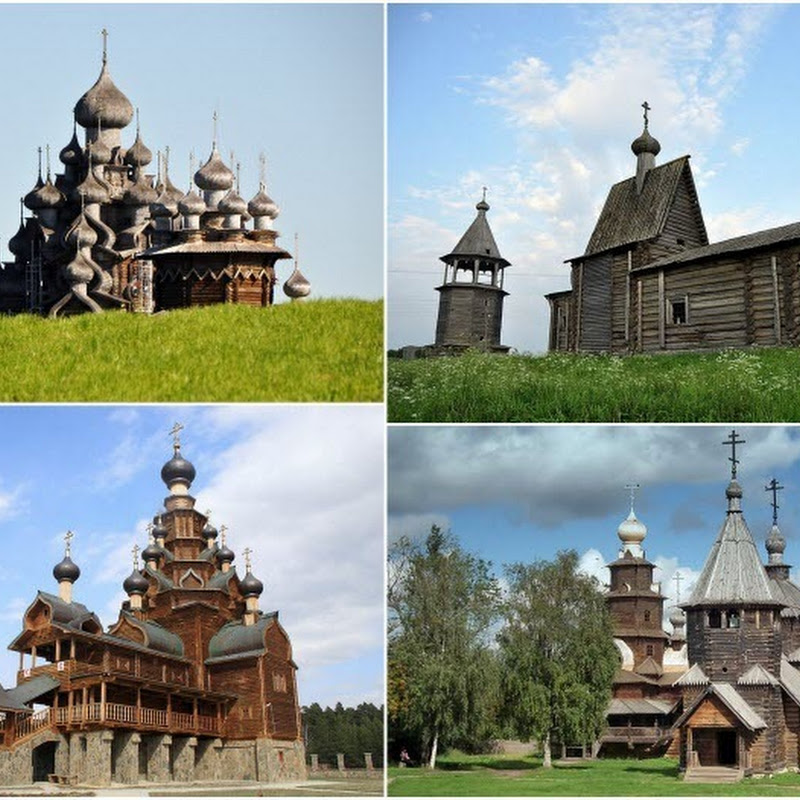 10 Spectacular Wooden Churches of Russia