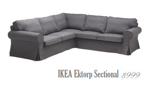 IKEA sectional