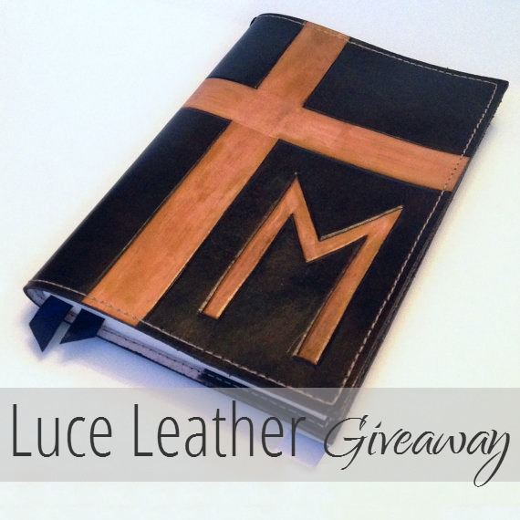 luce leather giveaway