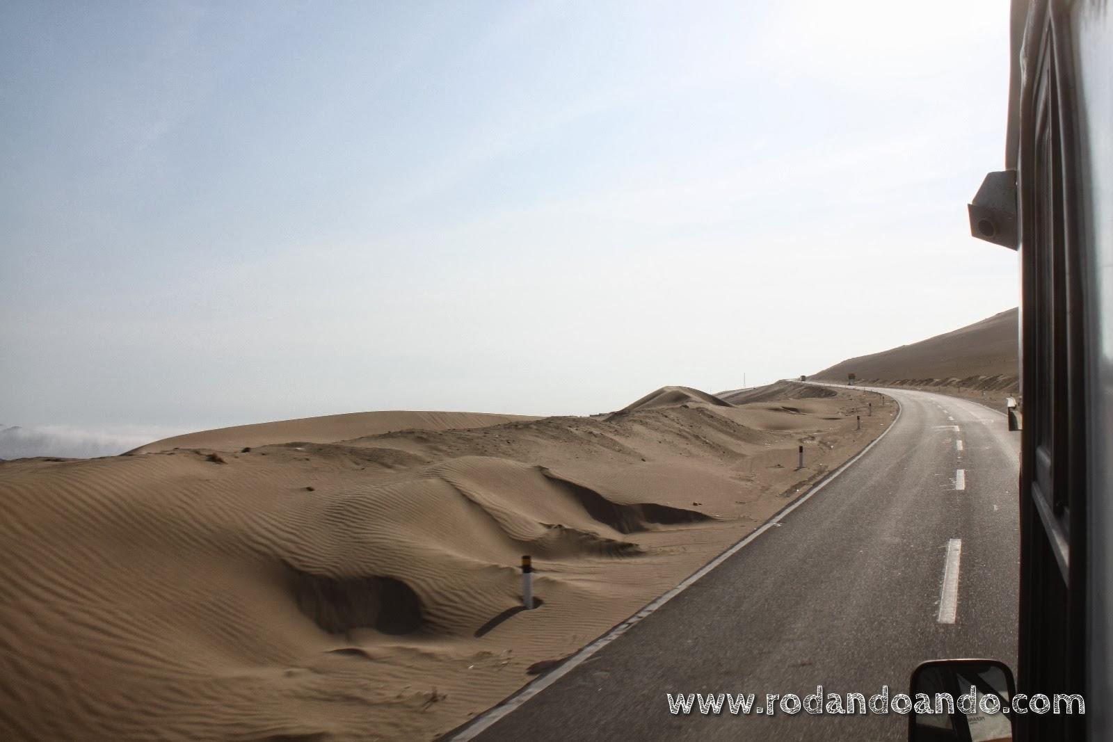 Se nota que es desierto?