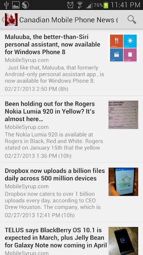 Canadian Mobile News