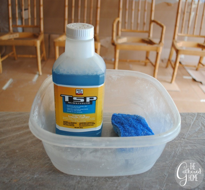 prepare chairs for homeright finish max paint sprayer