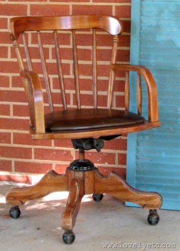 banker chair before