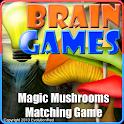 Magic Mushrooms Matching Game icon