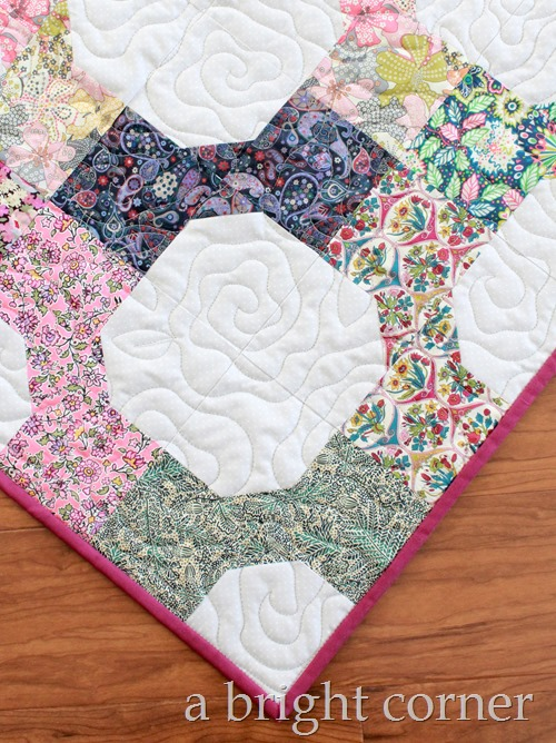cabbage roses quilting design