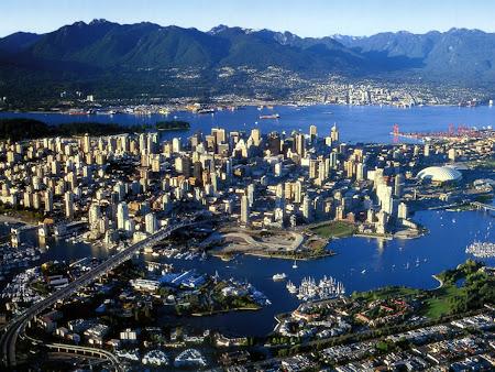 Imagini Canada: Vancouver poza panoramica