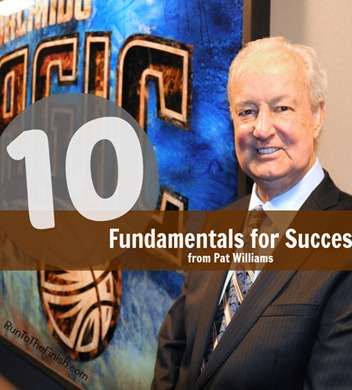 Pat Williams 10 elements for success