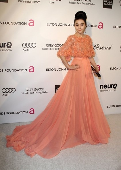 Fan Bingbing Celebs Elton John Oscar Party