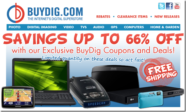 BuyDig.com More End of Summer Deals