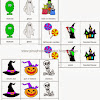 FREE Halloween Nomenclature and Counting Cards