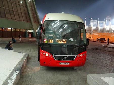 Autobuz Abu Dhabi - Dubai