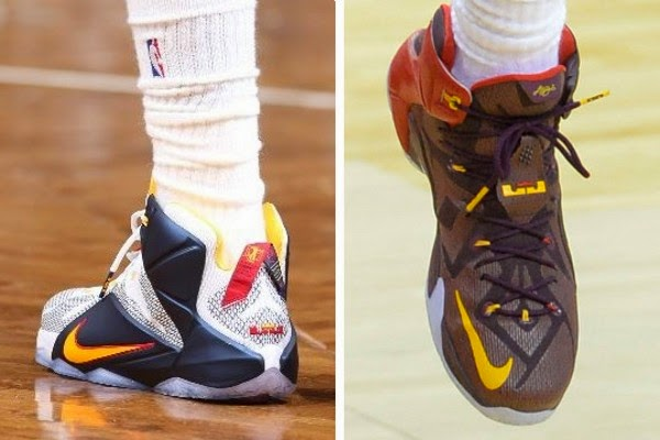 best service fca0f 5c509 King James Debuts New Cavs PE and Men8217s Double Helix LeBron 128217s ...