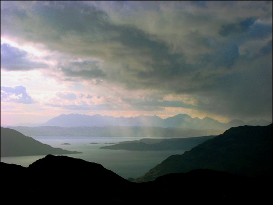 SKYE, FROM THE NORTH MORAR RIDGE