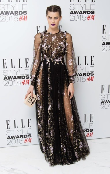 Isabeli Fontana attends the Elle Style Awards 2015