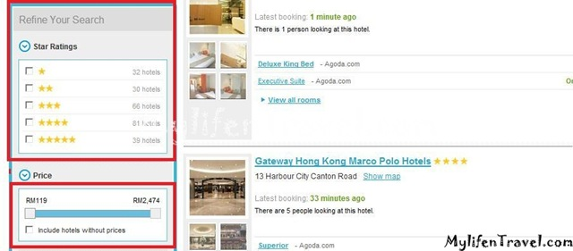 How to online booking hotel 12