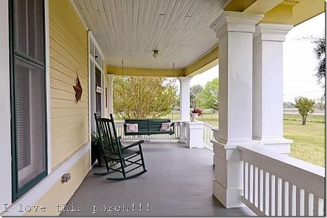 farmhouse mckinney texas porch