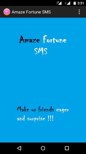 Amaze Fortune Sms
