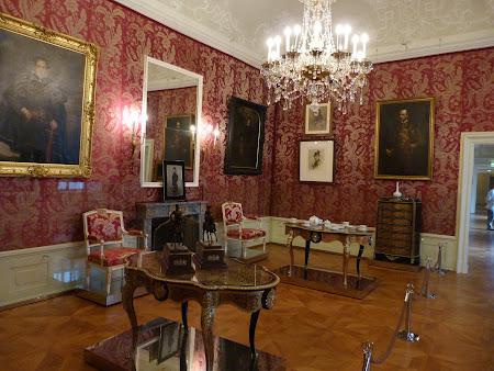 Obiective turistice Austria: saloane in Palatul Eszterhazy