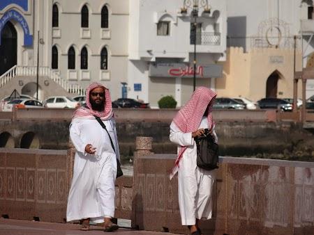 Turisti in Oman