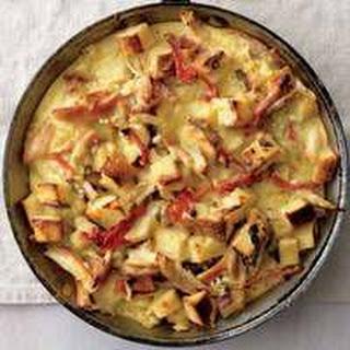 Chicken-Tomato Clafoutis Recipe