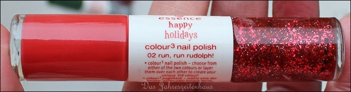 Essence Happy Holidays Nagellack Duo 02 Run Run Rudolph