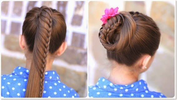10 Unique Hairstyles for the School Week-Lace-braid