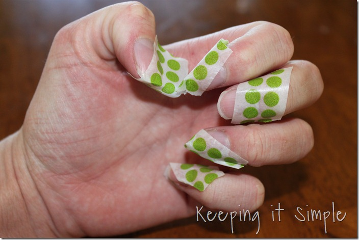 color blocking nails (3)