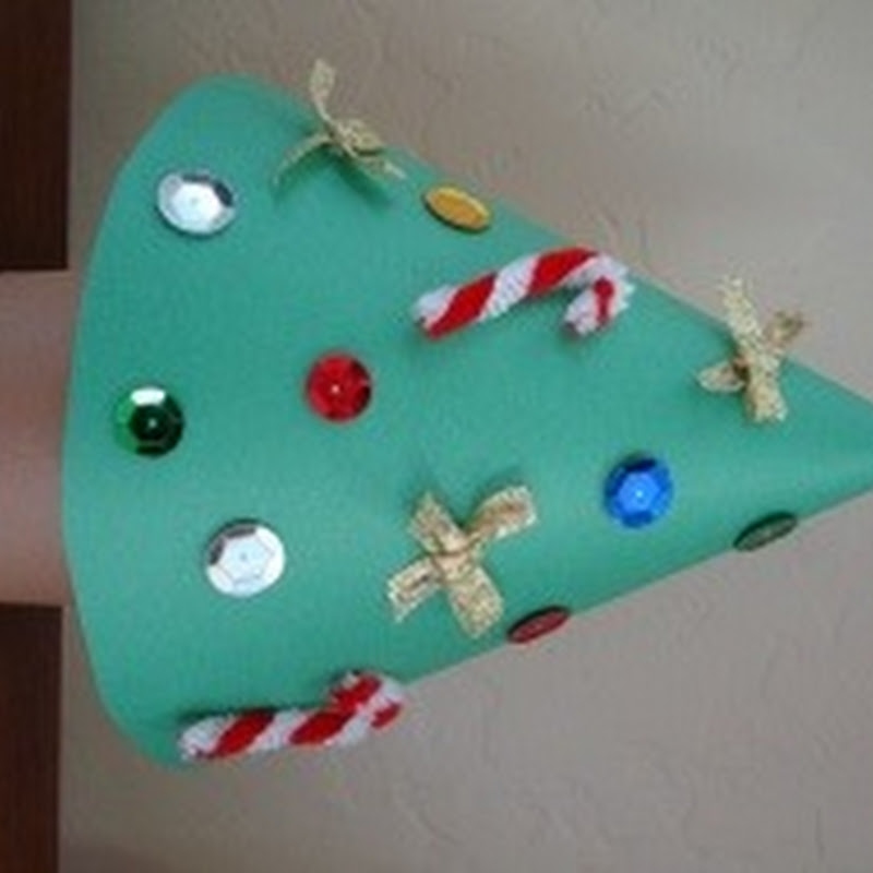 Árbol navidad, manualidades