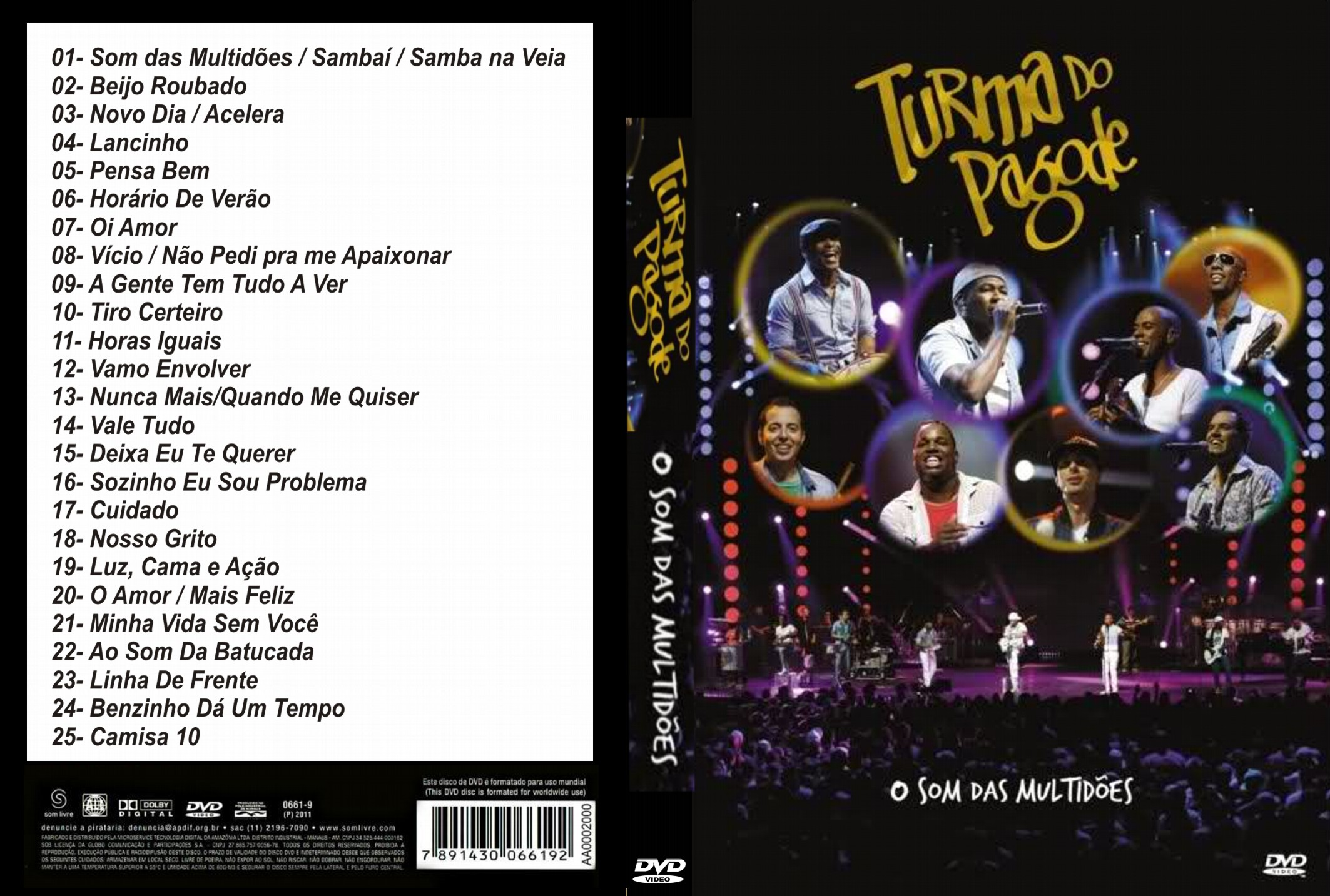 BAIXAR 2012 GRATIS CD DO PAGODE TURMA