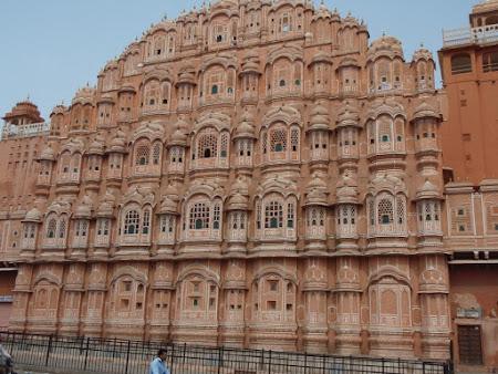 Obiective turistice India: Palatul vanturilor Jaipur