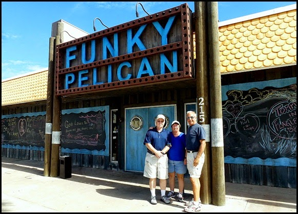 03 - Funky Pelican - lunch stop Flager Beach