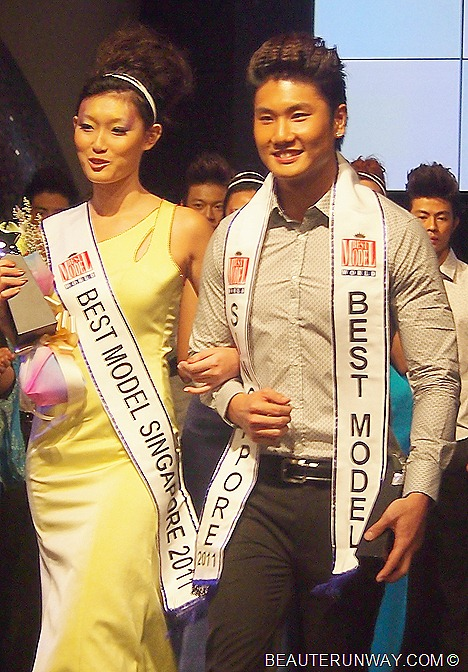 Best Model Of The World 2011 finals Singapore winners Richmond Ang Sharin Yeong Zouk