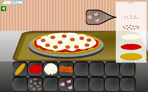 pizza kuchař - náhled