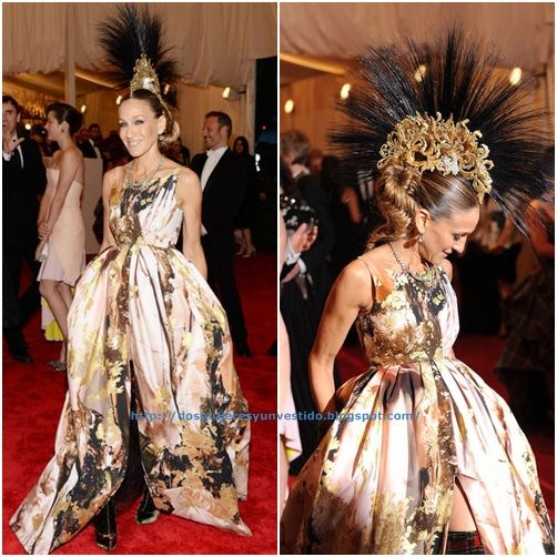 Sarah Jessica Parker attends the Costume Institute Gala3