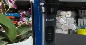 MIC KHÔNG DÂY ZANSONG 053 - chỉ cần cắm đầu thu nhỏ gọn của bộ mic vào các thiết bị âm thanh là có thể sử dụng